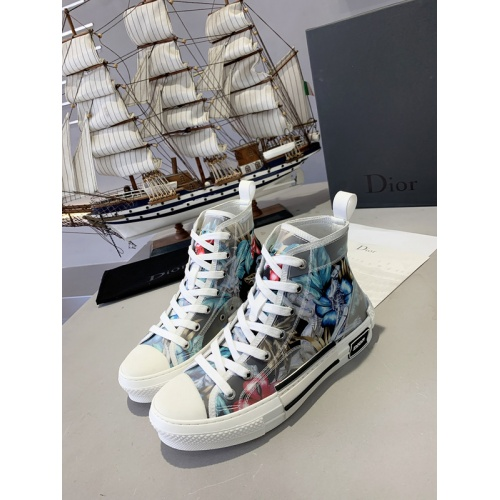 Christian Dior High Tops Shoes For Men #762100