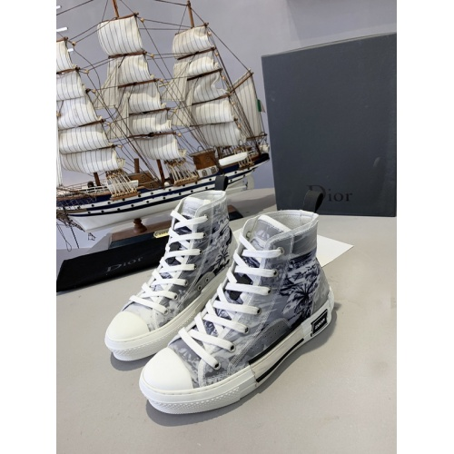 Christian Dior High Tops Shoes For Men #762103