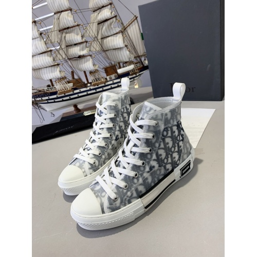 Christian Dior High Tops Shoes For Men #762106