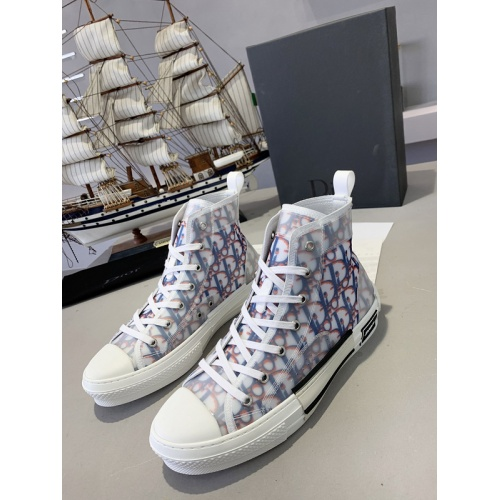 Christian Dior High Tops Shoes For Men #762107