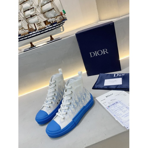 Christian Dior High Tops Shoes For Men #762118