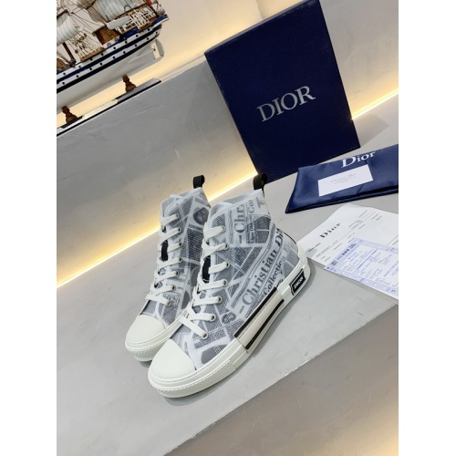 Christian Dior High Tops Shoes For Women #762120