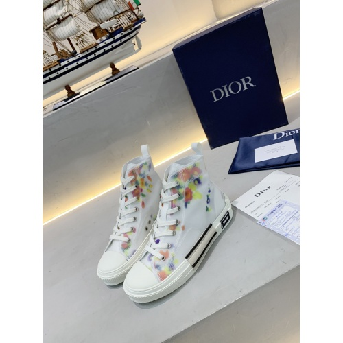 Christian Dior High Tops Shoes For Women #762122