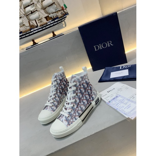 Christian Dior High Tops Shoes For Women #762124