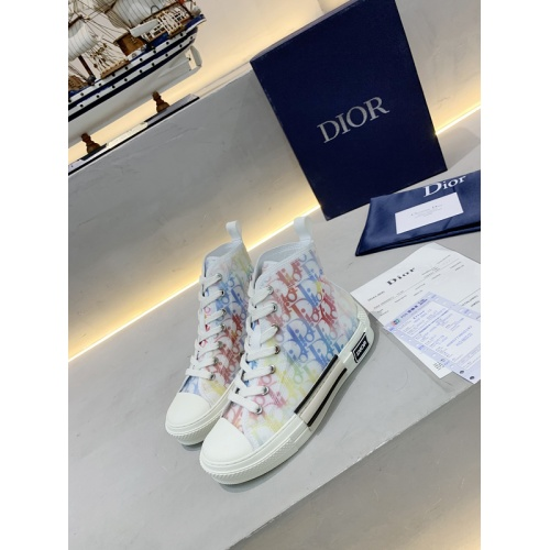 Christian Dior High Tops Shoes For Women #762125