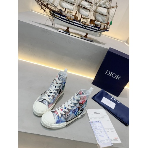 Christian Dior High Tops Shoes For Women #762127