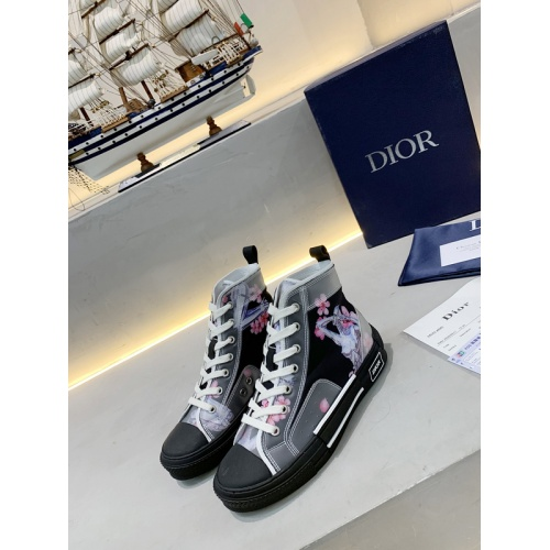 Christian Dior High Tops Shoes For Women #762128