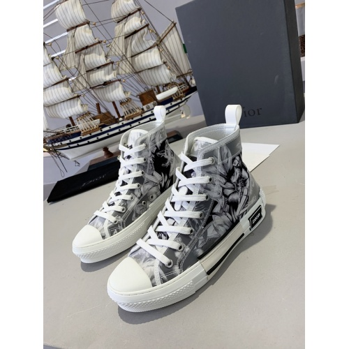 Christian Dior High Tops Shoes For Women #762136