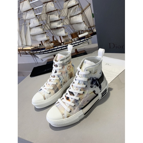 Christian Dior High Tops Shoes For Women #762139