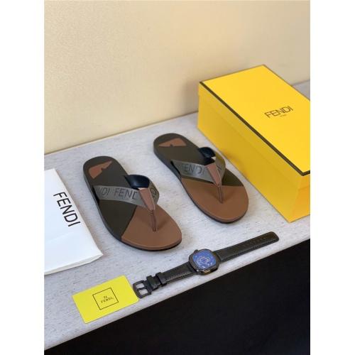 Fendi Slippers For Men #762479
