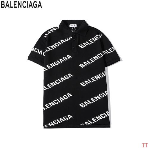 Balenciaga T-Shirts Short Sleeved Polo For Men #763130
