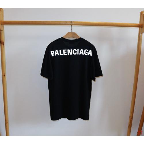 Balenciaga T-Shirts Short Sleeved O-Neck For Men #763134