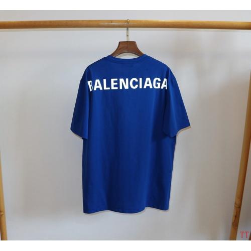 Balenciaga T-Shirts Short Sleeved O-Neck For Men #763136