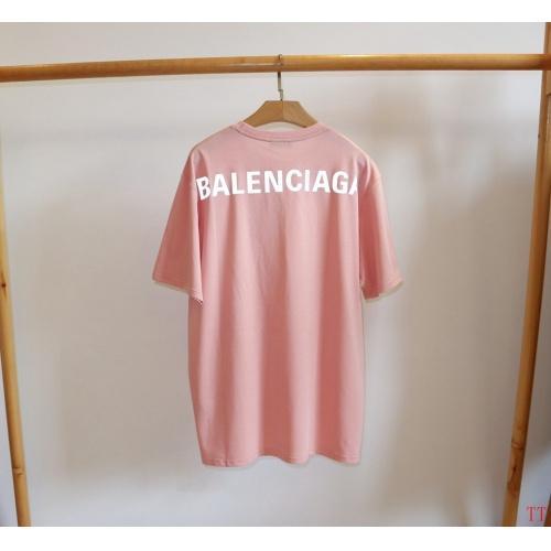 Balenciaga T-Shirts Short Sleeved O-Neck For Men #763137