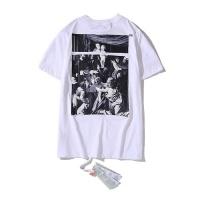 Off-White T-Shirts Short Sleeved O-Neck For Men #752958