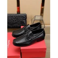 Ferragamo Salvatore FS Leather Shoes For Men #755804
