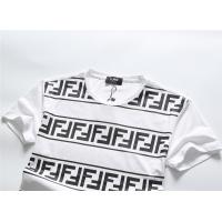 $25.22 USD Fendi T-Shirts Short Sleeved O-Neck For Men #756658