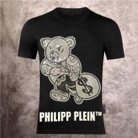 $28.13 USD Philipp Plein PP T-Shirts Short Sleeved O-Neck For Men #757721