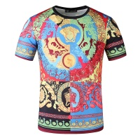 $24.25 USD Versace T-Shirts Short Sleeved O-Neck For Men #761473