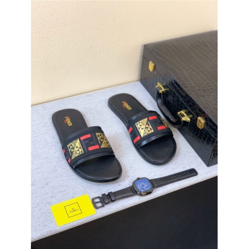 Fendi Slippers For Men #763809