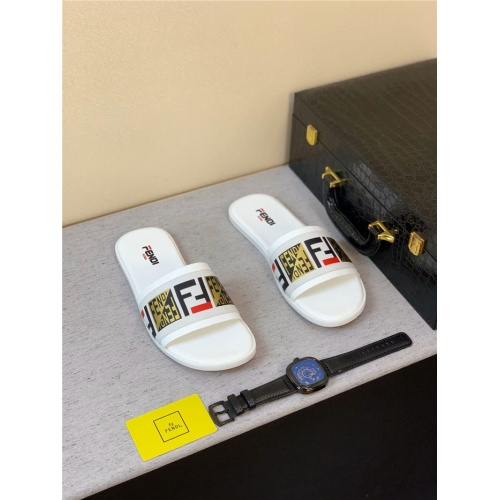 Fendi Slippers For Men #763811