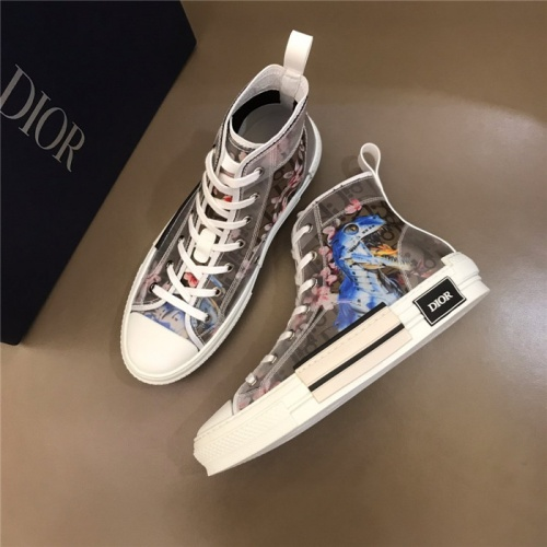 Christian Dior High Tops Shoes For Men #763881