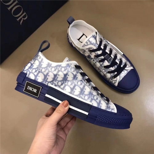 Replica Christian Dior Casual Shoes For Men #763882 $73.72 USD for Wholesale