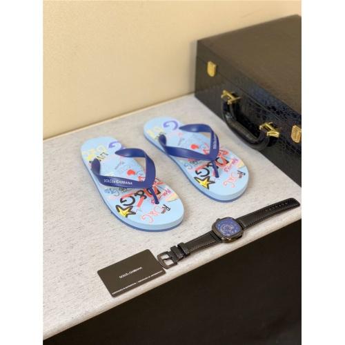 Dolce & Gabbana D&G Slippers For Men #763908