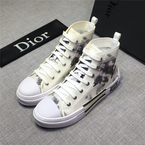 Christian Dior High Tops Shoes For Men #763912