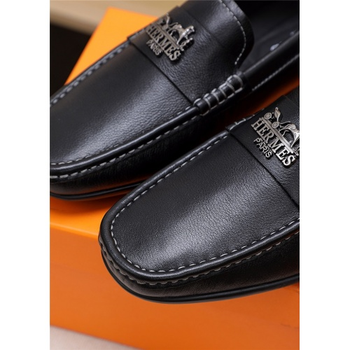 Replica Hermes Casual Shoes For Men #763971 $69.84 USD for Wholesale