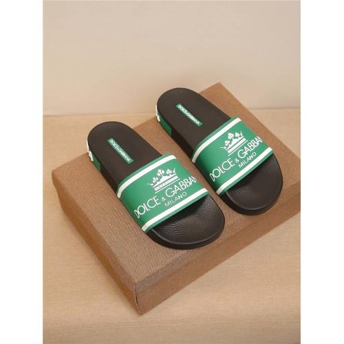 Dolce & Gabbana D&G Slippers For Men #764035