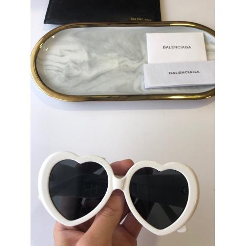 Balenciaga AAA Quality Sunglasses #764046