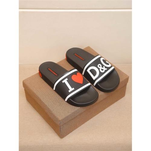 Dolce & Gabbana D&G Slippers For Men #764055