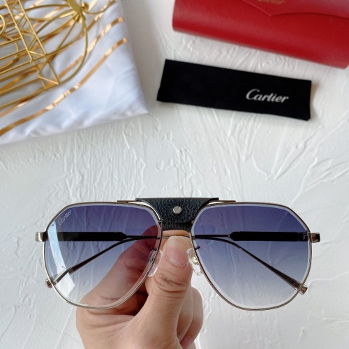 Cartier AAA Quality Sunglasses #764190