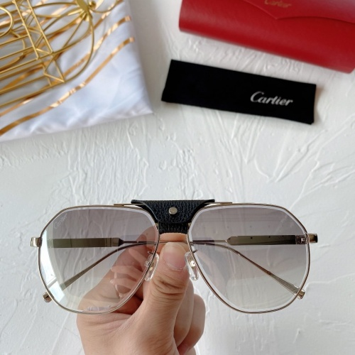 Cartier AAA Quality Sunglasses #764192