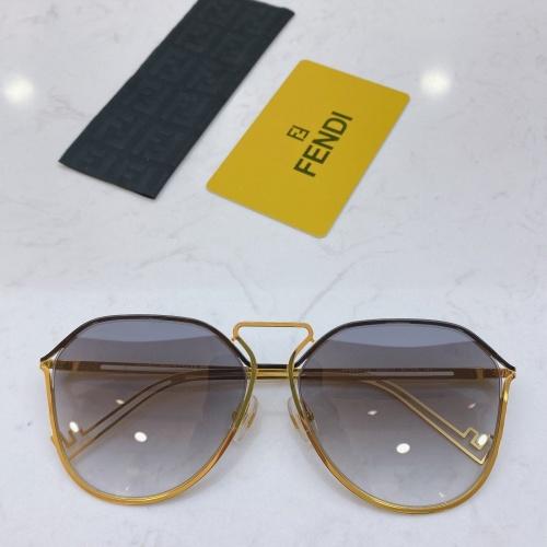 Fendi AAA Quality Sunglasses #764267