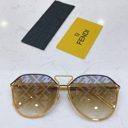 Fendi AAA Quality Sunglasses #764269