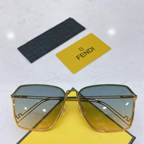 Fendi AAA Quality Sunglasses #764282