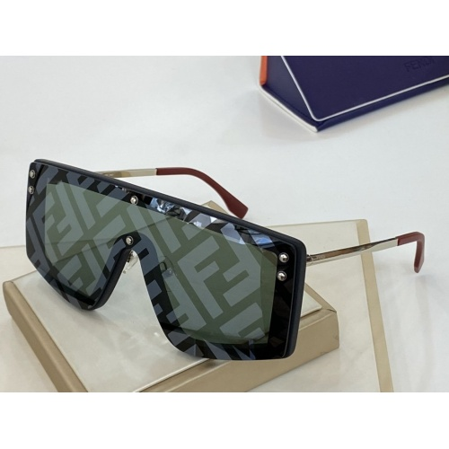 Fendi AAA Quality Sunglasses #764343