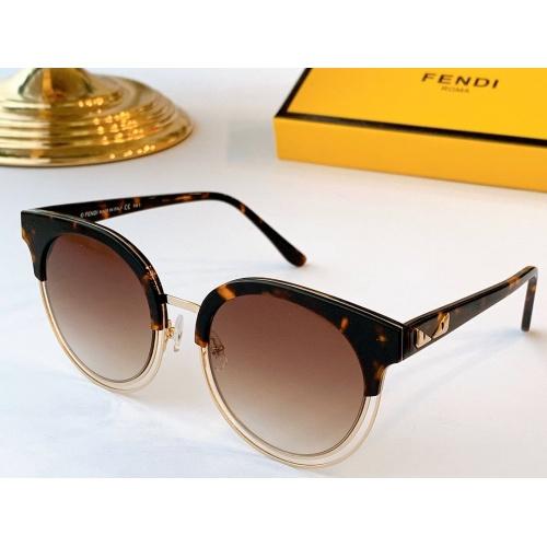 Fendi AAA Quality Sunglasses #764505