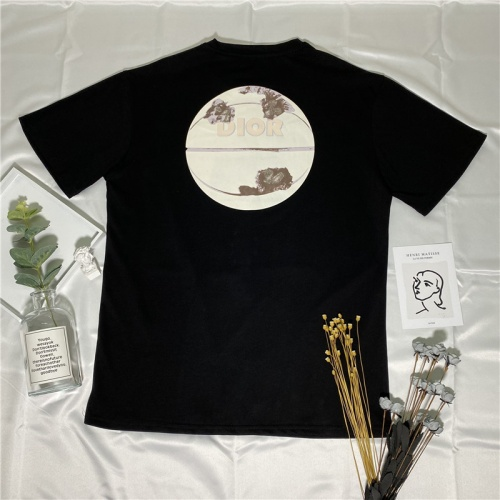 Christian Dior T-Shirts Short Sleeved O-Neck For Men #764599