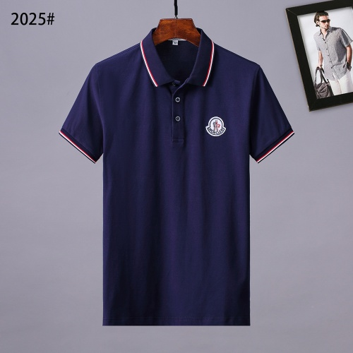 Moncler T-Shirts Short Sleeved Polo For Men #764740