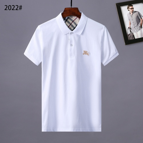 Burberry T-Shirts Short Sleeved Polo For Men #764745