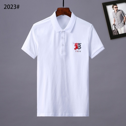 Burberry T-Shirts Short Sleeved Polo For Men #764746