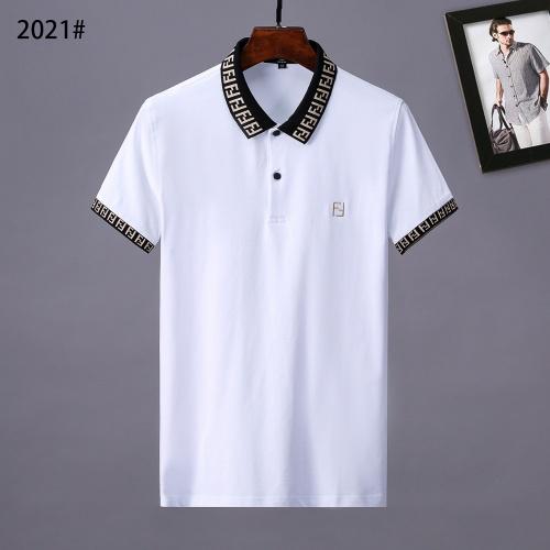 Fendi T-Shirts Short Sleeved Polo For Men #764749