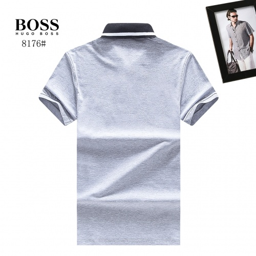 Replica Boss T-Shirts Short Sleeved Polo For Men #764757 $23.28 USD for Wholesale