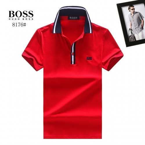 Boss T-Shirts Short Sleeved Polo For Men #764758