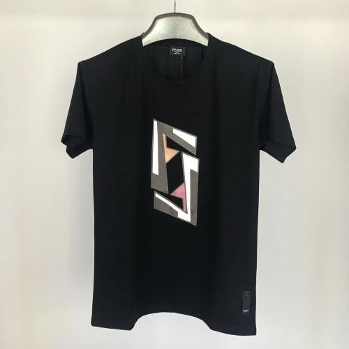 Fendi T-Shirts Short Sleeved O-Neck For Men #764765