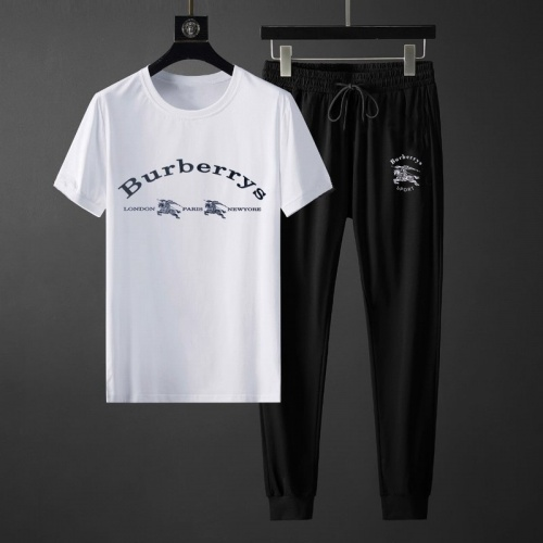 Burberry Tracksuits Short Sleeved O-Neck For Men #764806