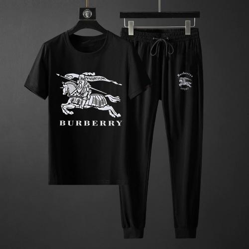Burberry Tracksuits Short Sleeved O-Neck For Men #764809